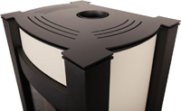 Krbová kamna AQUAFLAM VARIO ® - KALMAR 11/5kW krémová, elektronická regulace
