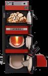 Kombinovaný kotel na zplynování dřeva, pelety, zemní plyn a extra lehký topný olej ( ETO )