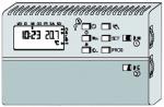 Elektronický časový termostat Bateriový