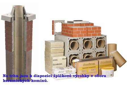 keramické komíny