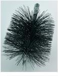 Kominický kartáč ocelový ocelový čistící kulatý průměr 100