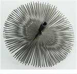 Kartáč komínový nerezový - štosákový, z nerez pásků, průměr 200, závit M 12