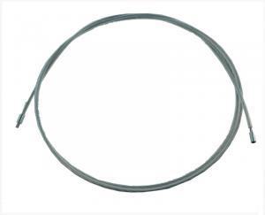 Ocelový nástavec pro štětku a nebo kartáč, délka 5 metrů, závit vnitřní M8, vnější M12 (s bužírkou)