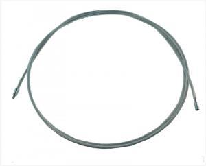 Ocelový nástavec pro štětku a nebo kartáč, délka 1 metr, závit vnitřní M8, vnější M12 (s bužírkou)