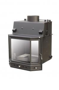 Teplovodní krbová vložka PSD 12 s klapkou a ext.přívodem vzduchu o výkonu 13,4 kW.