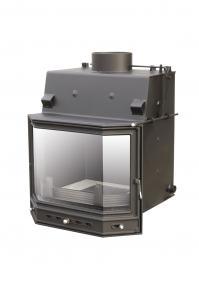 Teplovodní krbová vložka PSO 12 s klapkou a ext.přívodem vzduchu o výkonu 13,4 kW.