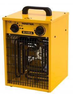 Topidlo Master B 3 ECA s ventilátorem