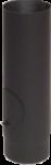 Roura s čist.otvorem, dl.250mm, prům.160, ČERNÁ
