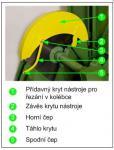 ochranné prvky - řezání v kolébce náhled