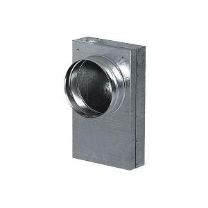 Redukce 90*, kanál - flex 125 mm
