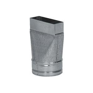 Redukce rovná, kanál - flex 150 mm