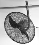 Nástěnný ventilátor 03.285 Černý