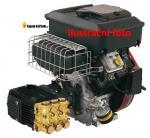 Benzinový motorový vysokotlaký čistič - agregát
