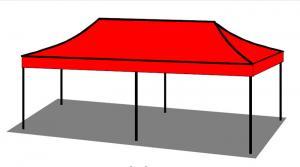 zvětšit skládací stan Business-Line 3x6m